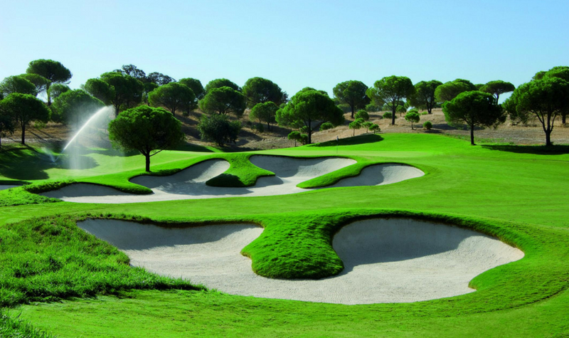 Golf course on the Costa del Sol