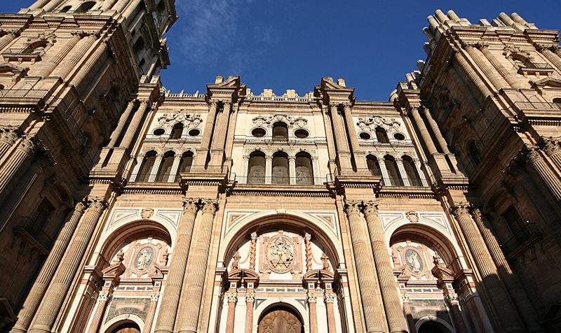 The Cathedral of Málaga, also known as