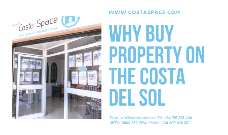Why Buy Property On The Costa Del Sol?