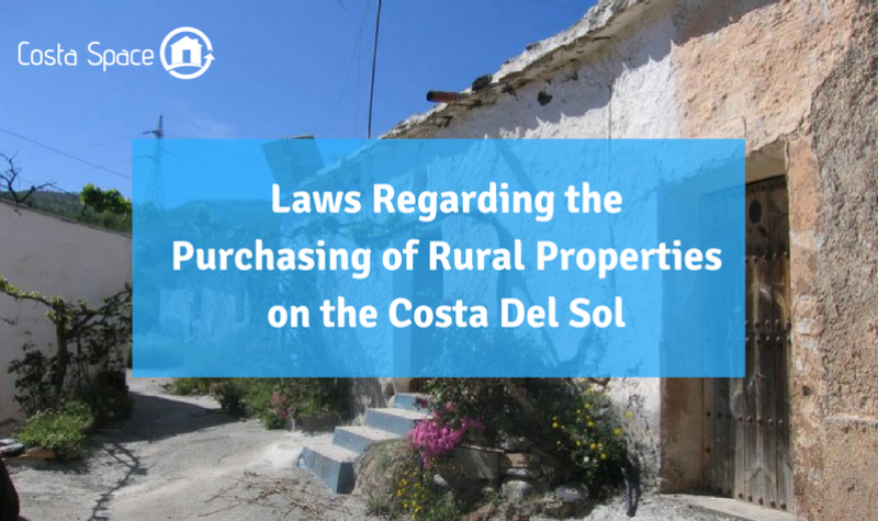 Purchasing Rural Properties On The Costa Del Sol